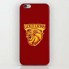 Casterly Rock Gold Lions iPhone & iPod Skin