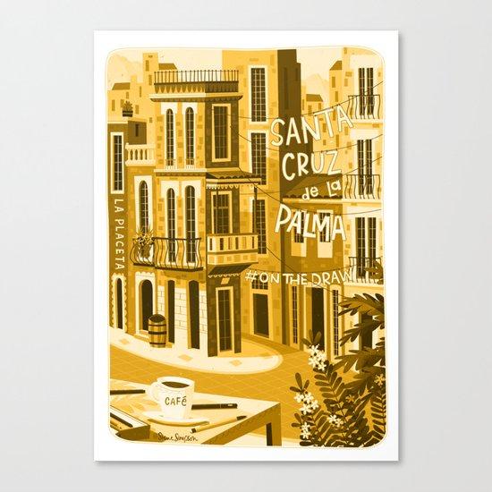 Santa Cruz de la Plama #onthedraw Canvas Print