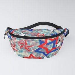 Stars and Splats Fanny Pack