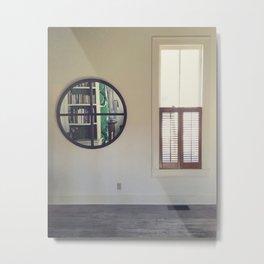 mirror and window Metal Print