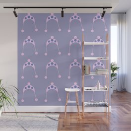 pink hat Wall Mural