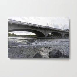 10th St Wave Metal Print