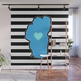 Modern Love Wall Mural