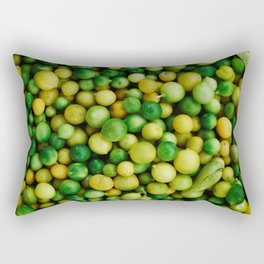 FRUITS - LEMONS - LIMES - NATURE Rectangular Pillow