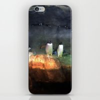 pittsburgh iPhone & iPod Skins featuring Pittsburgh Penguin by JordyAnn