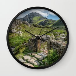 Decorative Iron Gate Wall Clock