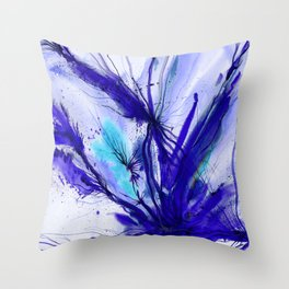 Organic Ecstasy No. 48e by Kathy Morton Stanion Throw Pillow