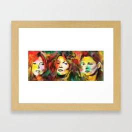 Colors of Kate Framed Art Print