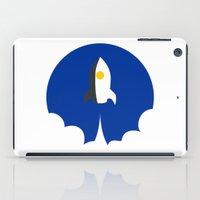 interstellar iPad Cases featuring Interstellar by Sumalab