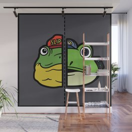 Old & New Slippy Toad Wall Mural