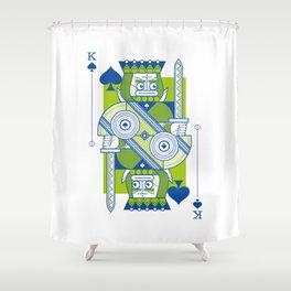 Delirium King of Spades Shower Curtain