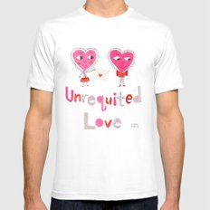 Unrequited Love Mens Fitted Tee SMALL White
