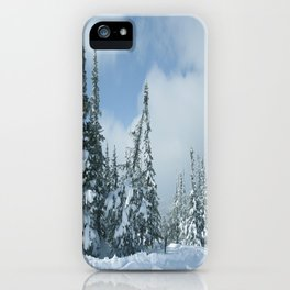 Winter day 15 iPhone Case