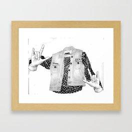 Ghostionable Framed Art Print