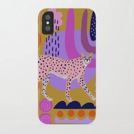 Modern Cheetah iPhone Case