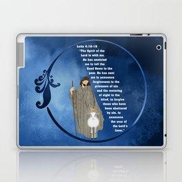 Jesus of Nazareth the Good Shepherd Laptop & iPad Skin
