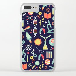 Science Studies Clear iPhone Case