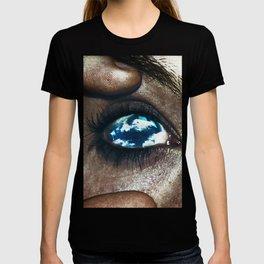 Ojos color cielo T-shirt