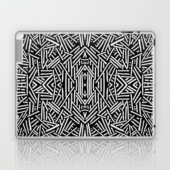 Radiate (BW) Laptop & iPad Skin