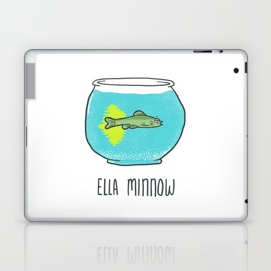 Ella Minnow Accident  Laptop & iPad Skin