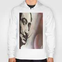 salvador dali Hoodies featuring salvador dali by Joedunnz