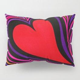 Psychedelic Zebra Love Pillow Sham
