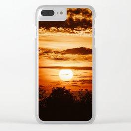 Waco Sun Clear iPhone Case