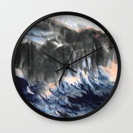 AU 35 - Peak Sunset  Wall Clock
