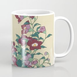 Hokusai (1760-1849) Bell-flowers and Dragonfly Coffee Mug