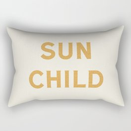 Sun child Rectangular Pillow