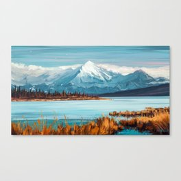 a Quiet Mind Canvas Print