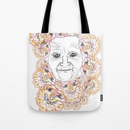 Babushka Tote Bag