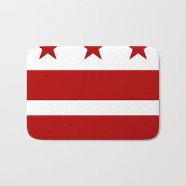 Washington DC District Of Columbia Flag Bath Mat