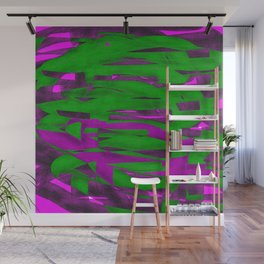 Power Squiggle Wall Mural