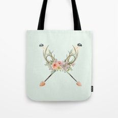 arrows and flowers Tote Bag