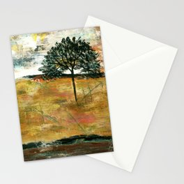 I Will Remember, Rustic Landscape Stationery Cards