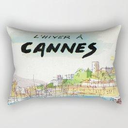 Winter In Cannes Rectangular Pillow