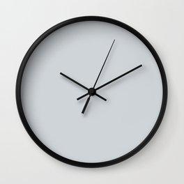 Silver Grey Wall Clock