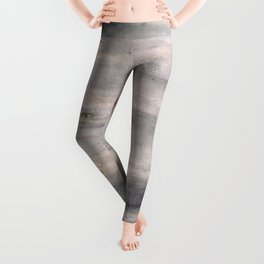 The One Day Abstract (oil on canvas) Leggings