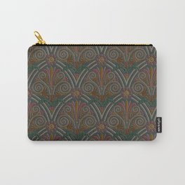 Ornamental Victorian Inspired Pattern Carry-All Pouch