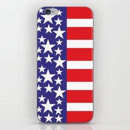 Flag of the United States of America. USA #society6 #decor #buyart #artprint iPhone Skin