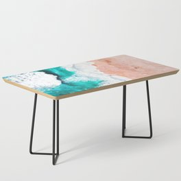 Beach Illustration Coffee Table