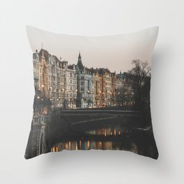 Prague, Czechia Throw Pillow