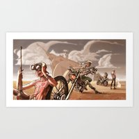 They're Coming Art Print