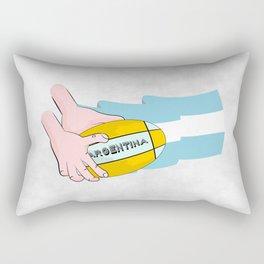 Argentina Rugby Rectangular Pillow