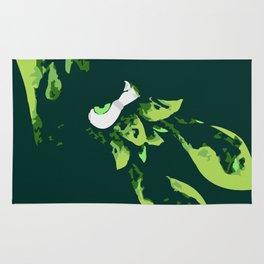 Green Kraken Rug