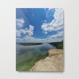 Nistru river Metal Print