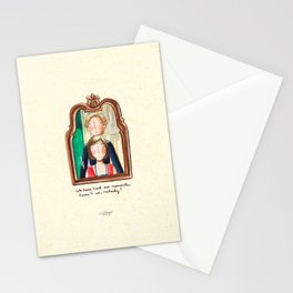 Maid and Lady Stationery Cards