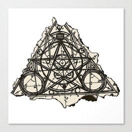 Imperfect Symmetry Canvas Print