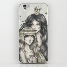 Two Moons iPhone & iPod Skin